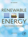Renewable Energy - Physics, Engineering, Environmental Impacts, Economics and Planning